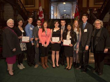 Garth Webb Secondary honoured with Lieutenant Governor's Award