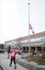 St. Peter's flag half mast-1