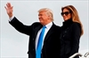 Trump arrives in Washington with a wave and a salute-Image3