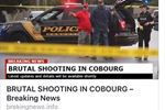 False shooting news