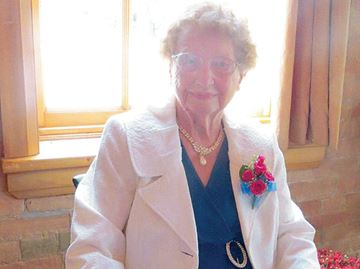 Alliston woman receives grand celebration for 100th birthday