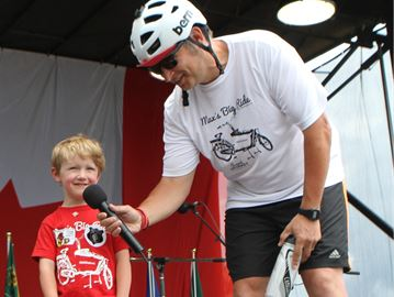Max's Big Ride raises awareness and $50,000 for Duchenne muscular dystrophy