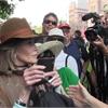 Jane Fonda joins 'historic' Toronto rally for jobs and climate
