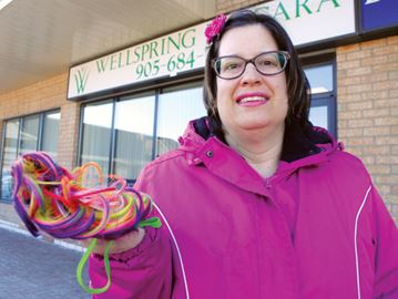 Extreme cold wasn't enough to deter fundraising for Wellspring Niagara