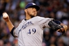 Brewers trade pitcher Yovani Gallardo to Rangers-Image1