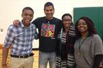 Chris D'souza challenges students to be leaders, to accept everyone
