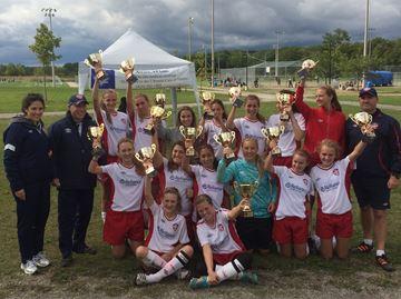 Oakville U15 girls win SRSL League Cup