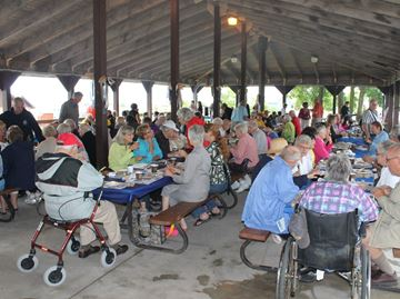 Huge crowd for Meaford Volunteer Appreciation Day
