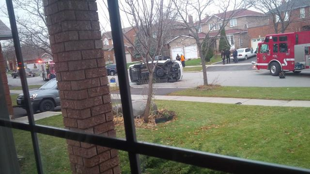 Flowertown Ave. crash