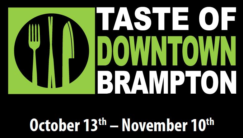 Taste of Brampton Logo Fall 2016