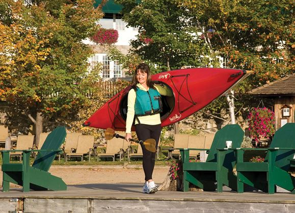 Discover kayaking — the simple act of paddling a kayak is just plain fun