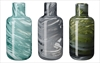 Marbled vases