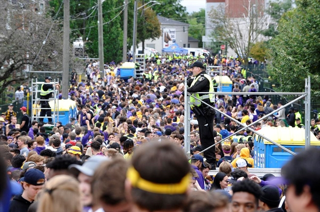 Police spent $180,000 to manage Homecoming street party in Waterloo