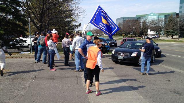 Peel teachers' strike