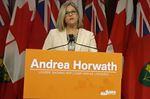 Andrea Horwath throne speech response