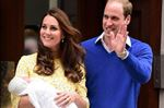 Duke and Duchess of Cambridge with baby