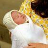 Duke and Duchess of Cambridge with baby