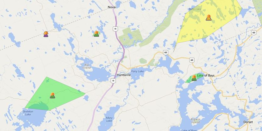 Multiple Power Outages Reported In North Muskoka And Almaguin On