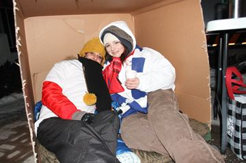 Sleep Out So Others Sleep In