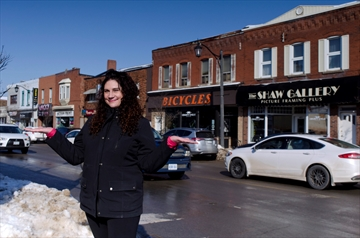 Stephanie Hicks has been hired as the executive director for the Beamsville Business Improvement Area. She started in early February.