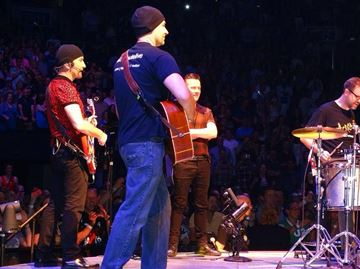 Milton man, local tribute band plays Desire with U2