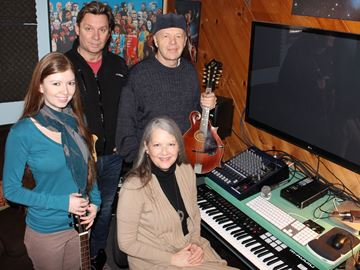 Creemore-area artists record Christmas CD