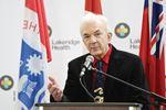 Hospital funding Dr. Romas Stas