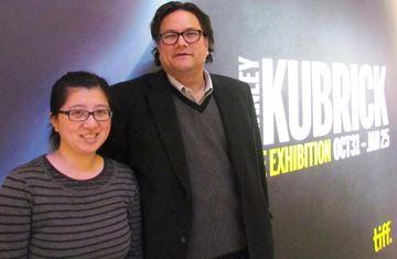 Volunteering at Kubrick exhibit