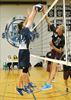 St. Theresa's senior boys volleyball team wins in straight sets