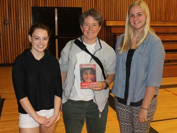 Award winning author and peace activist speaks to Meaford students