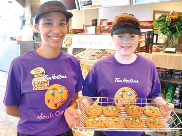 Tim Hortons Smile Cookie campaign in full swing