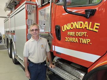 Fire Fighters Association of Ontario president