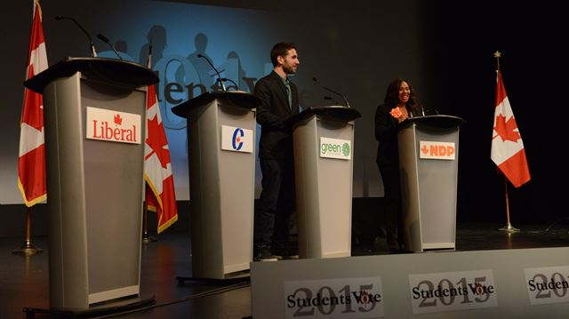 Not all attend all-candidates meeting at Oakville's Sheridan College campus