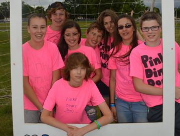 Sea of pink at Relay for Life