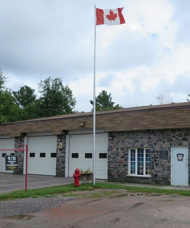 Lavigne fire station