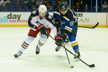 Blues open NHL preseason with 2 wins against Blue Jackets-Image1
