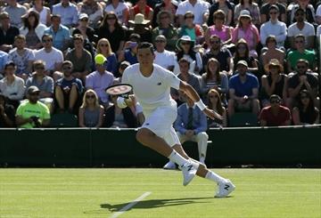 Raonic advances to second round at Wimbledon-Image1