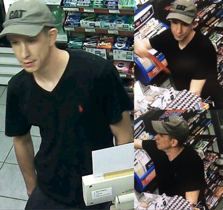 'He ransacked the place': Major theft at Petro Canada in Burlington has police looking for this young man