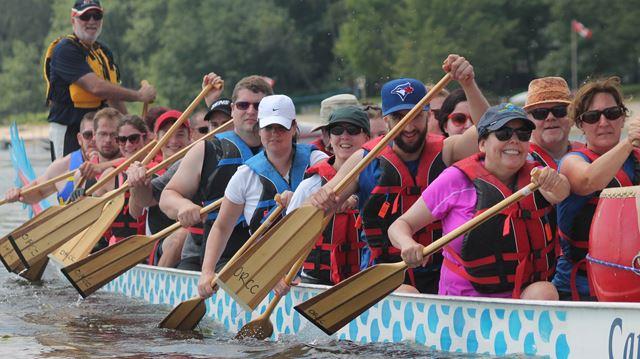West Carleton Dragon Boat races