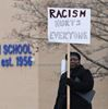 Ajax High School protest Gloria Small-Clarke