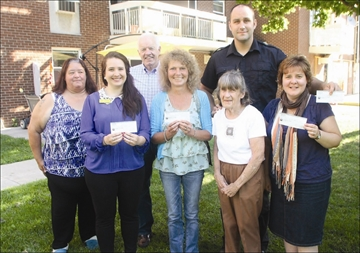 Fairview Towers residents donate; to four causes– Image 1