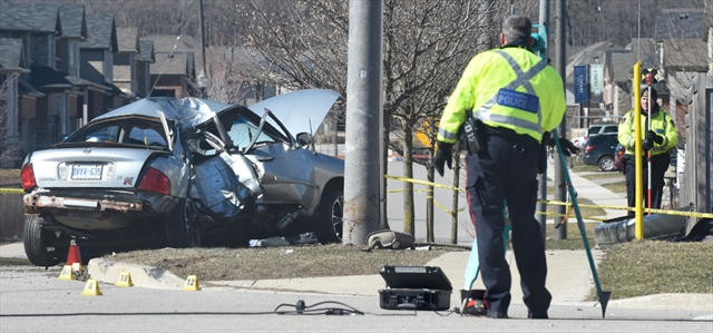Doon South Crash Kills Two Young Kitchener Men