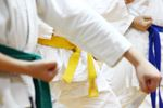 Summer karate class at Orillia YMCA
