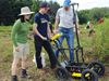 Students test out new technology at Pickering archaeological dig