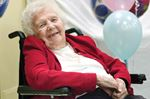 Mary Strathdee 100th birthday