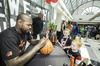 IN PICTURES: Toronto Raptor Amir Johnson at Yorkgate Mall