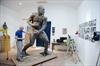 Boxing sculpture