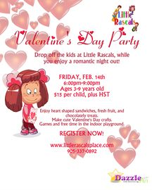 Valentine's Day Drop Off