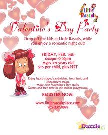 Valentine's Day Drop Off