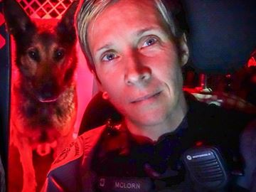 Halton police canine handler/trainer recognized with award for many achievements